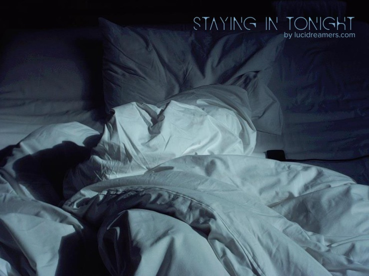 staying in tonight cover